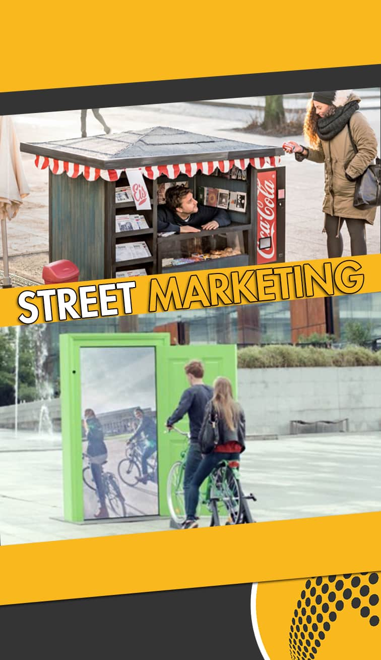 servicios de street marketing Coslada